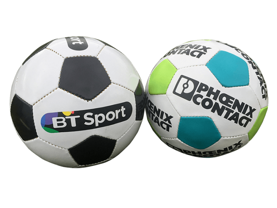 28 panel promotional ball with logo
