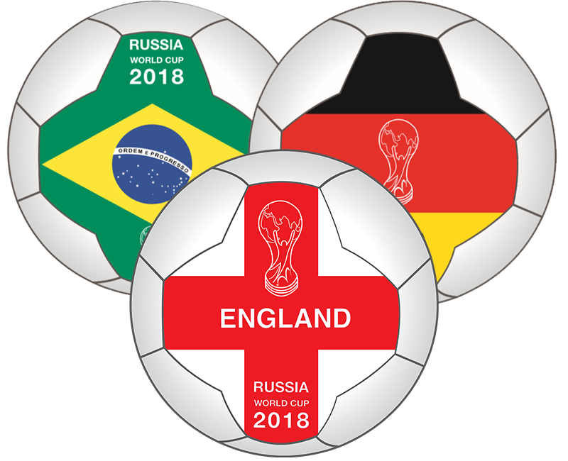World Cup Flag Balls
